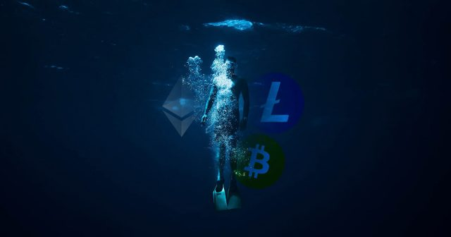 Bitcoin, Ethereum and Litecoin sink as buying pressure fades