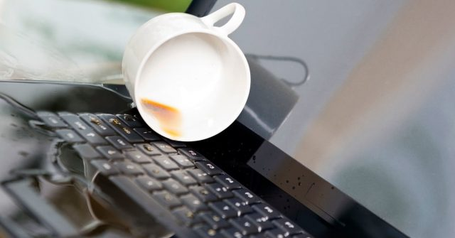 Spilled Water on Your Laptop? Here's How to Fix It