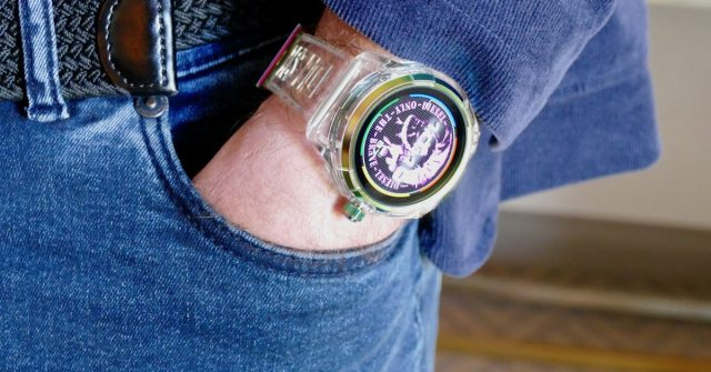 You Won't Disappear With Diesel's On Fadelite Smartwatch on Your Wrist